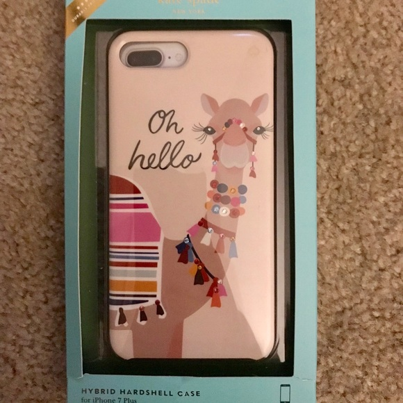 size 40 a09f1 c5f31 Kate Spade iPhone 7 Plus Camel Case